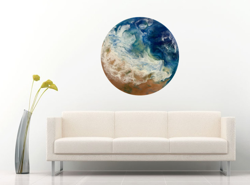 Calming effect on any room.
