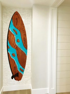 Huge Surfboard Carving